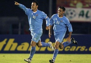 San Marino hero Andy Selva scores the winner against Liechtenstein